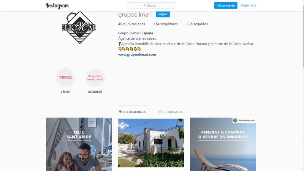 Instagram Grupo Elimari